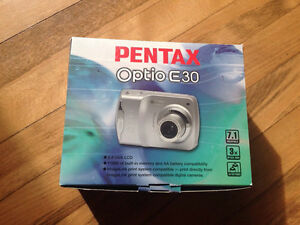 Pentax point and shoot camera