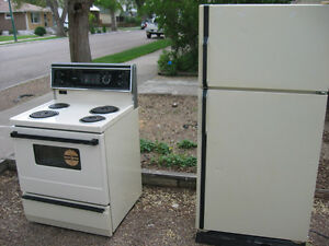Free Stove, Fridge, Washer & Dryer