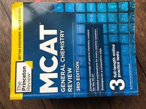 Selling Used MCAT Textbooks