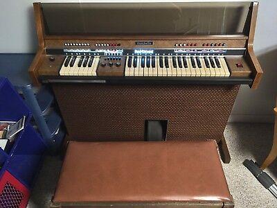 Baldwin Fun Machine Electric Organ Piano Model 121F 121W With Drums A+Condition