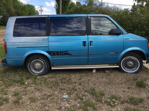 1986 GMC Safari Minivan, Van