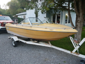 1974 15ft with 100hp mercury 6cyl BEST OFFER TAKE TODAY