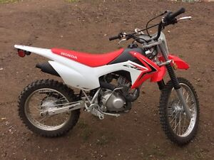 2014 Honda CRF 125F Big Wheel
