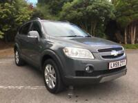 2009 CHEVROLET CAPTIVA LTX 2.0 DIESEL 4X4 **7 SEATER** IN GREY