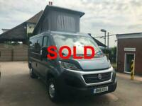 Fiat Ducato Campervan 4 berth REDUCED FURTHER SOLD