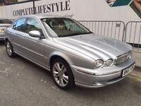 Beautiful 2008 Jaguar X-type Diesel 2.0 Mot and Full service History HPI Clear sat nav