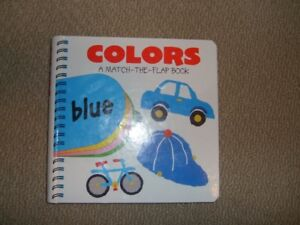A Match-the-Flap Book - Colors