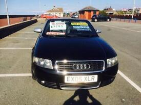 Audi A4 Cabriolet 2.4 2005MY S Line Manual Metallic Black