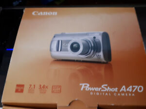 PowerShot A470 Digital Camera