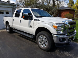 2016 Ford F-350 Diesel Pickup with Fisher XLS Snowplow