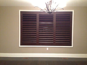 Shutters, Blinds, Glass Inserts, Drapery---- UP TO 80% OFF!!! Cambridge Kitchener Area image 6