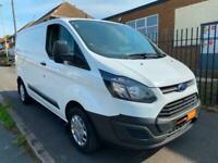 2015 15 Ford Transit Custom 2.2 TDCI 100PS Euro 5 SWB L1 H1 White Van NO VAT