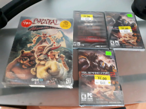 New PC Game Lot