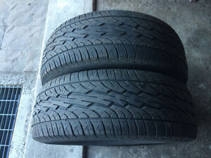 2 PNEUS / 2 ALL SEASON TIRES  235/65/16 DUNLOP SIGNATURE