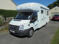 AUTOSLEEPER HAMPSHIRE, 2 BERTH, REAR LOUNGE, TWIN SINGLE BEDS LOW MILEAGE