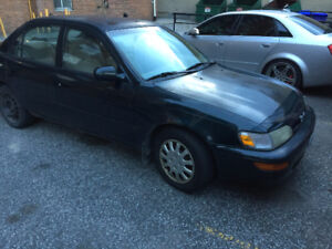 Toyota Corolla DX 1997-PRICE REDUCE...AS IS...$699 OBO