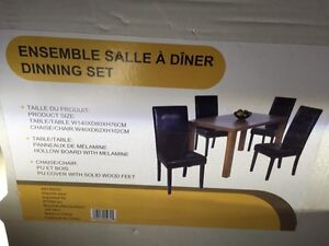 Brand new in a box. Dinning table - only table