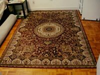 """5'1""""x7'3"""" Red/ Ivory Rug - Firm Price"""