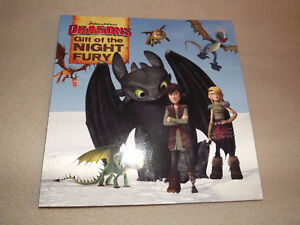 """How to Train A Dragon """"Gift of the Night Fury"""" - excellent cond."""
