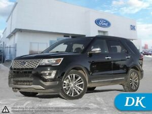 2017 Ford Explorer Platinum Fully Loaded AWD w/2nd Row Console