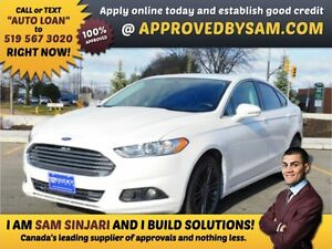 $225 every two weeks taxes included OAC - BUYS THIS FUSION AWD