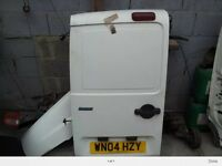 Fiat doblo rear door