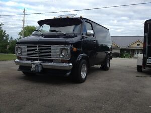 Sell or Trade my 1977 Chevy Van for 1/2 ton 4X4 Pick Up