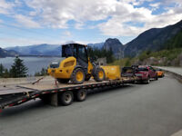 Hauling service 40ft trailer empty heading to an from delta BC