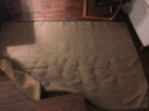 Brown Jute Carpet - Perfect Condition!