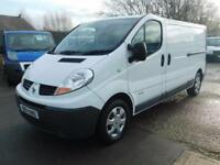 RENAULT TRAFIC 2.0DCI LL29 LWB 1 OWNER F/S/H SAME DAY FINANCE CALL 100VANS