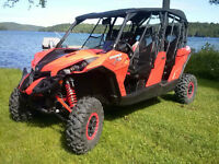 2014 Can Am Maverick Max X-rs 1000R / Power Steering