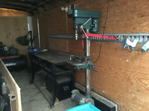 Mobile Welding/Workshop Trailer with air compressor, drill press Kawartha Lakes Peterborough Area image 4
