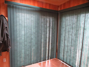 Vertical Blinds/curtains for patio doors