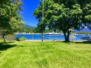Pet Friendly Lakefront cottage for rent Oct 2018-June 2019