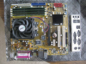 Asus M2N-MX AM2 Motherboard AMD Athlon 5600+ CPU 4G Ram