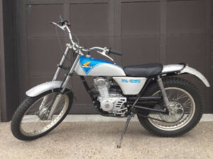 1974 Honda TL125 Trials bike