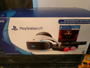 PlayStation vr bundle with games!
