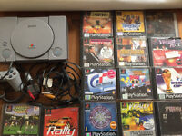 Ps1 PlayStation 1 console and games