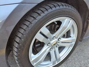 Mags & Nokian snow tires for Lexus