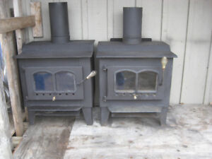 Two Small Wood Stoves    Woodstoves