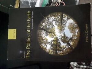The Politics of the Earth Environmental Discourses. 3rd ed.