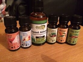 6 X scented oils