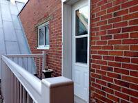 Loft tout équipé Plateau - Laurier (350$/semaine ou 1280$/mois)