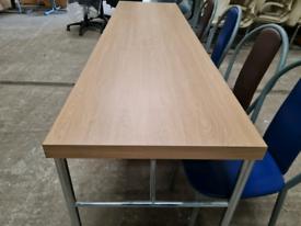 Commercial tables white Oak