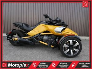 2018 Can-Am SPYDER F3S SM6 65,84$/SEMAINE