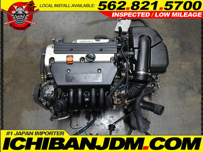 Used, ACURA RSX MOTOR BASE MODEL ENGINE DC5 INTEGRA K20A3 K20A iVTEC 02-04 for sale  Pico Rivera