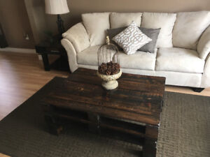 Custom Rustic Coffee and End Tables