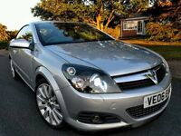 CONVERTIBLE VAUXHALL ASTRA TWINTOP DESIGN LOW MILEAGE 1.9CDTI ** VERY RARE HIGH SPEC CAR **