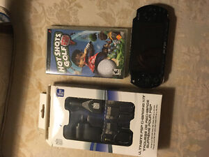PSP + Game and Charger