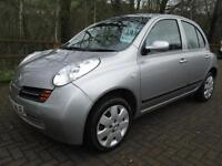 03/03 NISSAN MICRA 1.4 SE 5DR AUTOMATIC IN MET SILVER